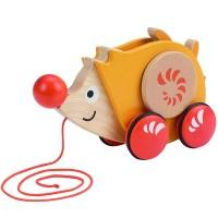 Walk-a-Long Hedgehog Toddler Pull Toy