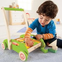 Block and Roll Toddler Push Cart