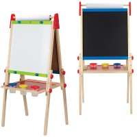 All-in-1 Adjustable Standing Art Easel & Accessories Set