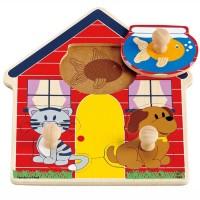 Perfect Pets Knob Puzzle