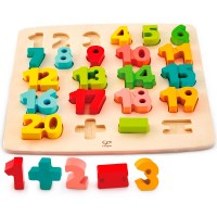 Chunky Numbers 1-20 Early Math Puzzle