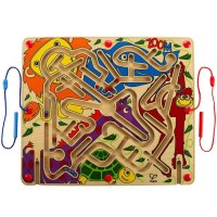 Zoo'm 2 Magnetic Wands Marble Maze