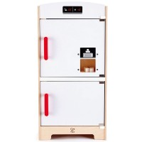 White Fridge Freezer Wooden Play Kitchen