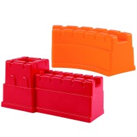 Great Castle Walls Red & Orange Sand Molds