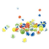 Quadrilla Marble Racers 50 Marbles in a Bag Set