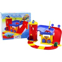 First Vehicles Play Garage for Toddlers