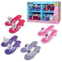 Princess Dress Up Shoes 4 Pairs Set