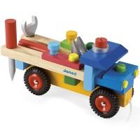 Build Wooden Truck Vehicle Construction Set