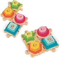 Turtles Wooden Stacking Activity Toy