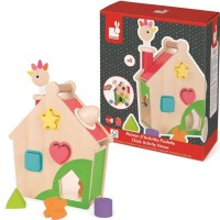 Zigolos Hen Activities House Shape Sorter