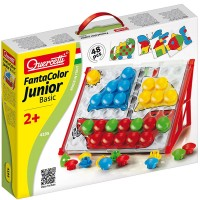 Quercetti FantaColor Basic Junior Button Peg Set