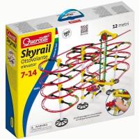 Quercetti Skyrail Ottovolante Elevator 360 pc Marble Run Set