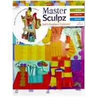 Explore Cubism Creative Sculpture Art Kit for Kids