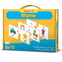Rhyme Match It! Educational Puzzle