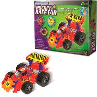 Rockin Race Car Techno Gears 80 pc Building Set