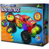 RC Monster Truck Techno Gears 80 pc Building Set
