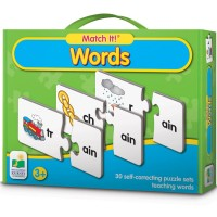Words Match It! Learning Puzzle Game