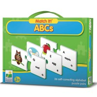ABCs Match It! Learning Puzzle