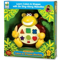 Early Learning - Colors & Shapes Monkey