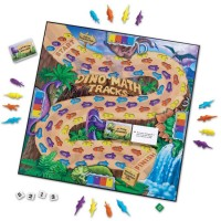Dino Math Tracks Learning Game