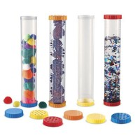 Sensory Tubes 4 Jumbo Tubes with Lids Set