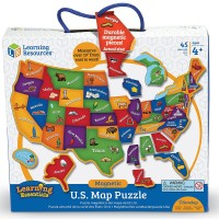 Magnetic USA Map 44 pc Puzzle