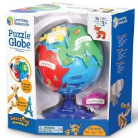 Puzzle Globe Preschool Geography Toy