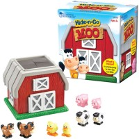 Hide n Go Moo Barn Animals Toddler Play Set