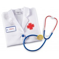 Doctor 3 pc Dress-up Play Set