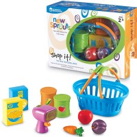 Pretend Store Toy Food & Scanner Playset