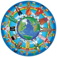 Children Around the World - Circular Floor Puzzle