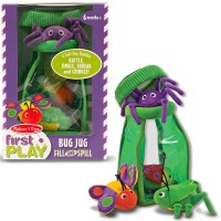 Bug Jug Fill and Spill Baby Soft Toy