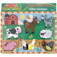 Farm Chunky Wooden Puzzle