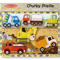 Construction Vehicles Chunky Puzzle