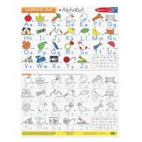Alphabet Double-Sided Learning Write-On Placemat