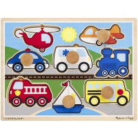 Vehicles Jumbo Knob Puzzle