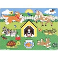 Pets Peg Wooden Puzzle