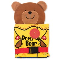 Dress Up Bear Basic Skills Learning Activity Soft Book