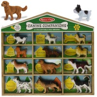 Dog Breeds Collection 12 pc Canine Companions Set