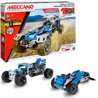 Meccano 10 Models Rally Racer Motorized Building Set