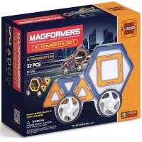 Magformers XL Cruisers Car Magnetic Building Set