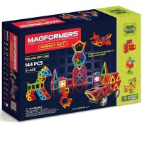 Magformers 144 pc Smart Set - Deluxe Magnetic Building Toy