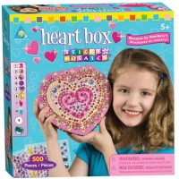 Heart Box Sticky Mosaics Craft Kit