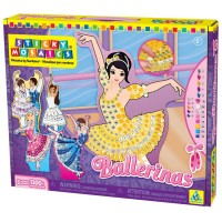 Sticky Mosaics Ballerinas Girls Craft Kit