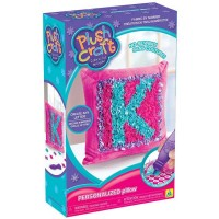 PlushCraft Personalized Pillow Girls Craft Kit