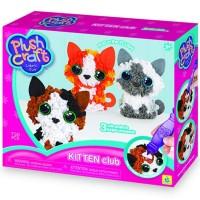 PlushCraft Kitten Club 3D Fabric Craft Kit