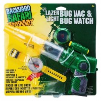 Backyard Safari Lazer Light Bug Vac & Bug Watch Kit