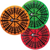 Spider Flyer Disc - Assorted Orange, Red, Green Soft Foam Frisbee