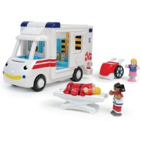 Kids Ambulance Vehicle Playset - Robin's Medial Rescue