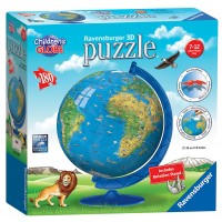 Children's World Globe 180 pc 3D Puzzle